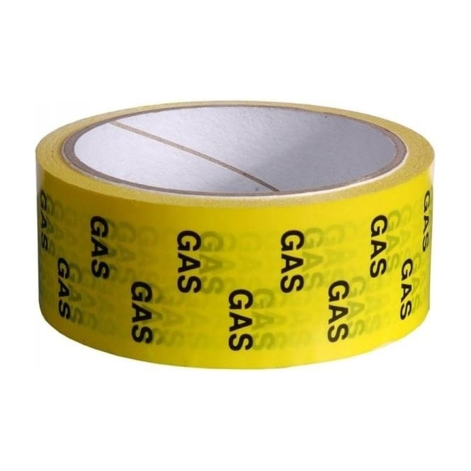 Hayes Products Gas/LPG Identification Tapes 50mm x 33m