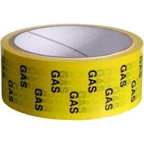 Gas/LPG Identification Tapes 50mm x 33m