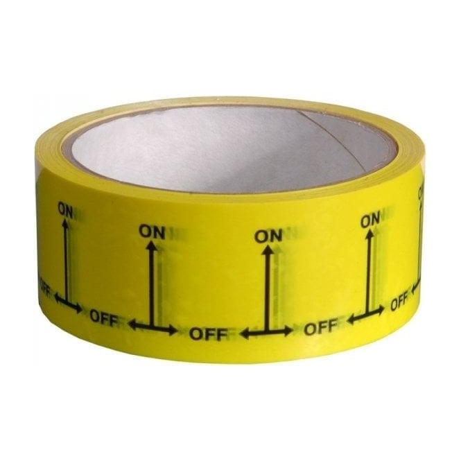 Hayes Products On-Off Identification Tapes 38mm x 33m