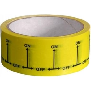 On-Off Identification Tapes 38mm x 33m