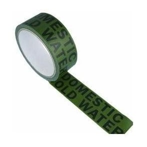 Water Identification Tapes 38mm x 33m