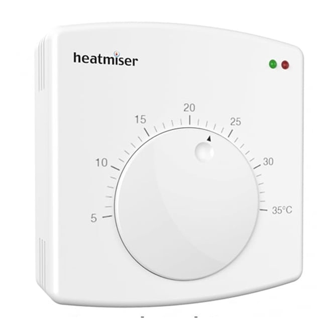Heatmiser DS1 - Central Heating Dial Thermostat