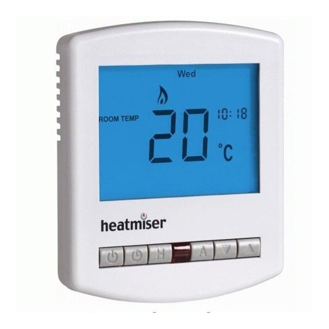 Heatmiser Slimline-E - Programmable Room Thermostat