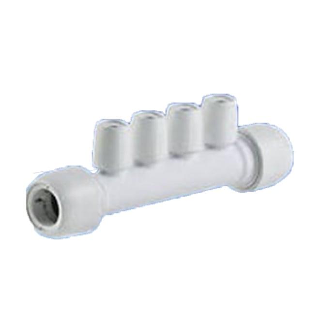 Hep2o Four Port Manifold 22mm x 10mm PF/PF