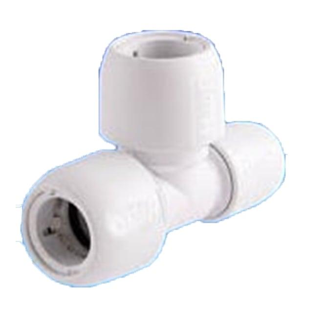 Hep o polybutylene end reduce tee pipe fittings