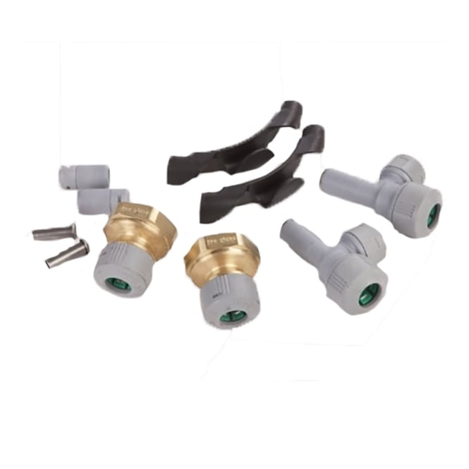 Hep2o UFH LB 1 Port Fittings (10mm)