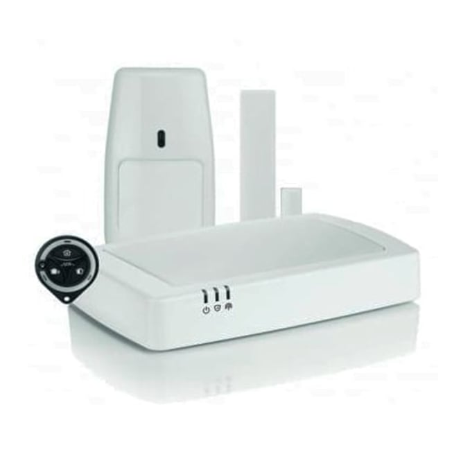 honeywell connected wireless home alarm kit 1 central. Black Bedroom Furniture Sets. Home Design Ideas