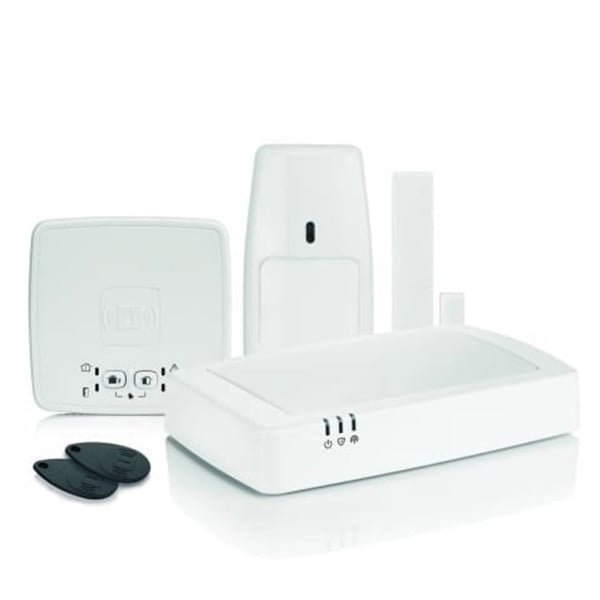 honeywell connected wireless home alarm kit 3 hs922gprs. Black Bedroom Furniture Sets. Home Design Ideas
