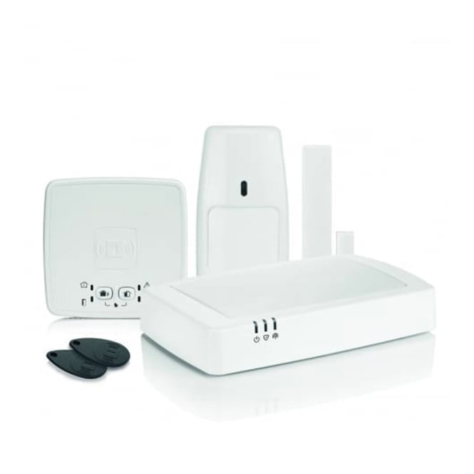 Honeywell Connected Wireless Home Alarm (with GPRS) Kit 3 (HS922GPRS)