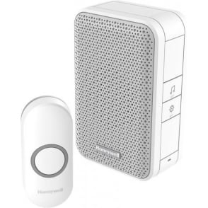 Series 3 Wireless Portable Doorbell With Push Button White DC311N