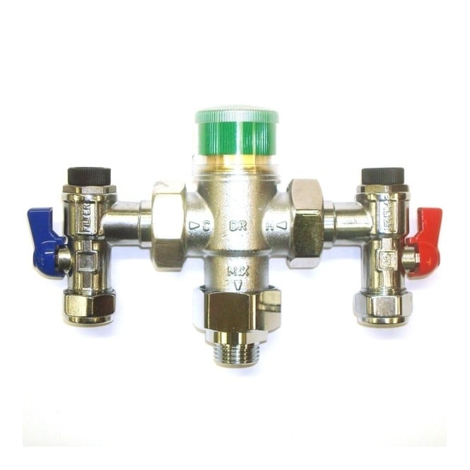 Thermostatic Mixing Valve: Honeywell Thermostatic Mixing Valve 15mm TM200VP-3/4ZC