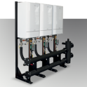Ideal Commercial Evomax Cascade and Header Kits Inline 120-150Kw