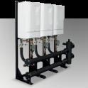 Evomax Cascade and Header Kits Inline 120-150Kw