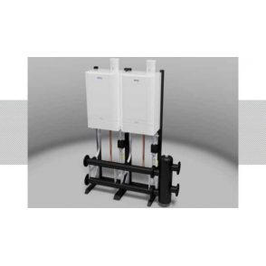 Evomax Frame & Header Kit (Boilers Not Included)