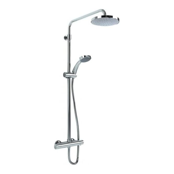 Inta Deluge Optimo Thermostatic Shower with Telescopic Riser & Overhead Soaker*