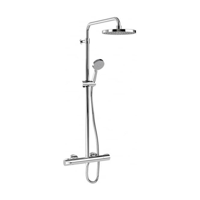 Inta Puro Thermostatic Shower with Overhead Soaker & Air Eco Handset