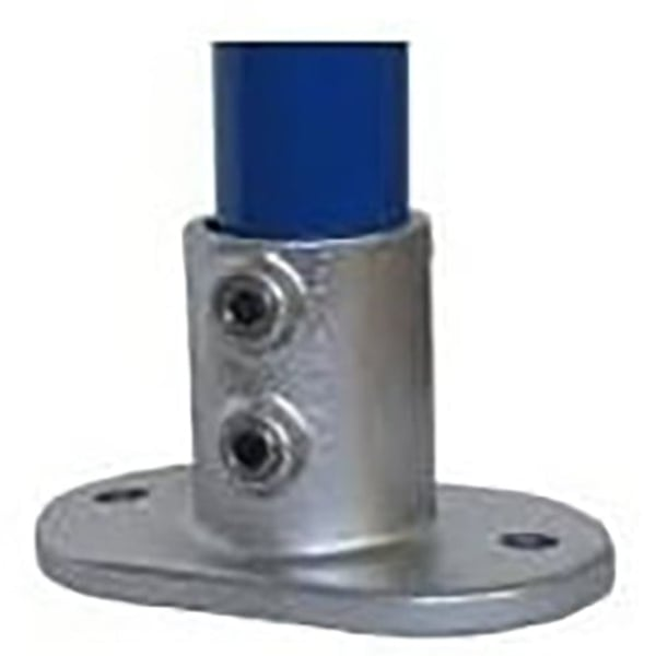Interclamp railing base flange pipe fittings from
