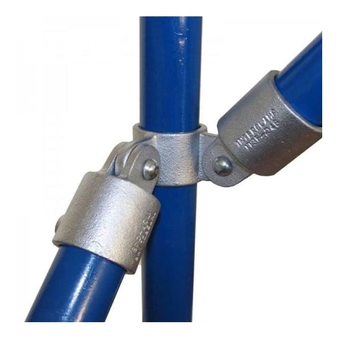 Interclamp 168 - 90° Corner Double Swivel Combination