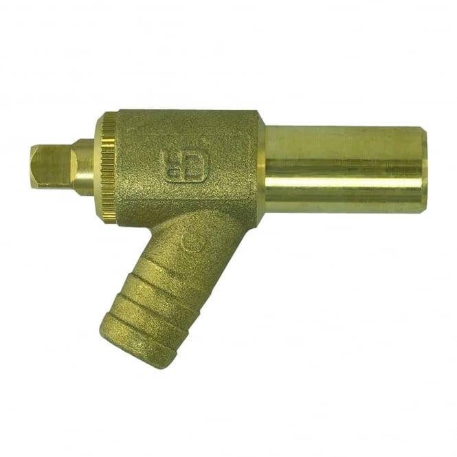 John Guest Speedfit brass Drain Cock 15BDC