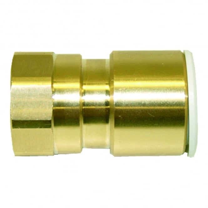 John Guest Speedfit Brass Female Coupler