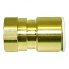 Brass Female Coupler