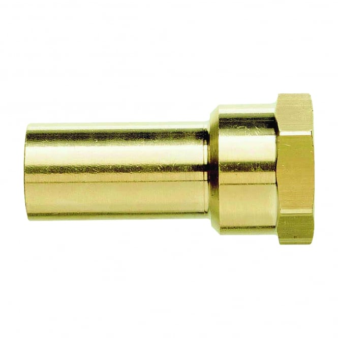 John Guest Speedfit Brass Female Stem Adaptor