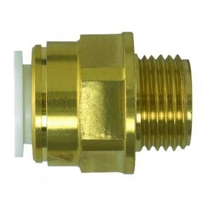 Brass Male Coupler -