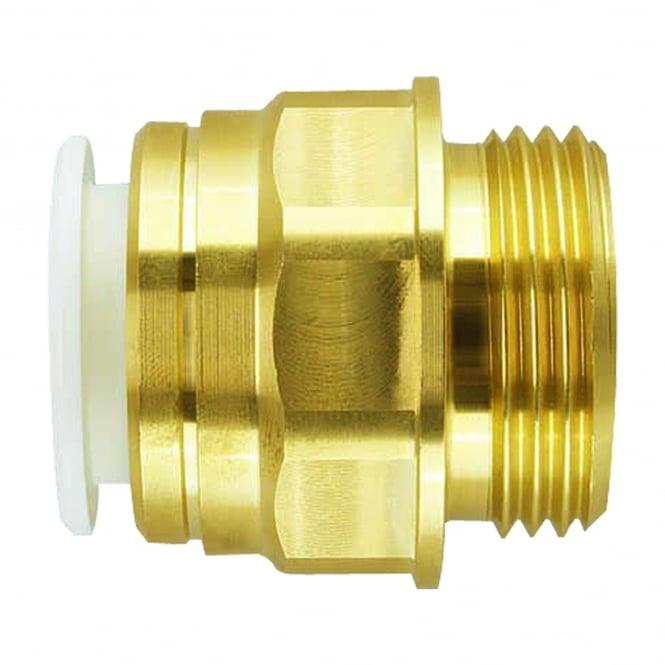 John Guest Speedfit Brass Male Cylinder Adaptor