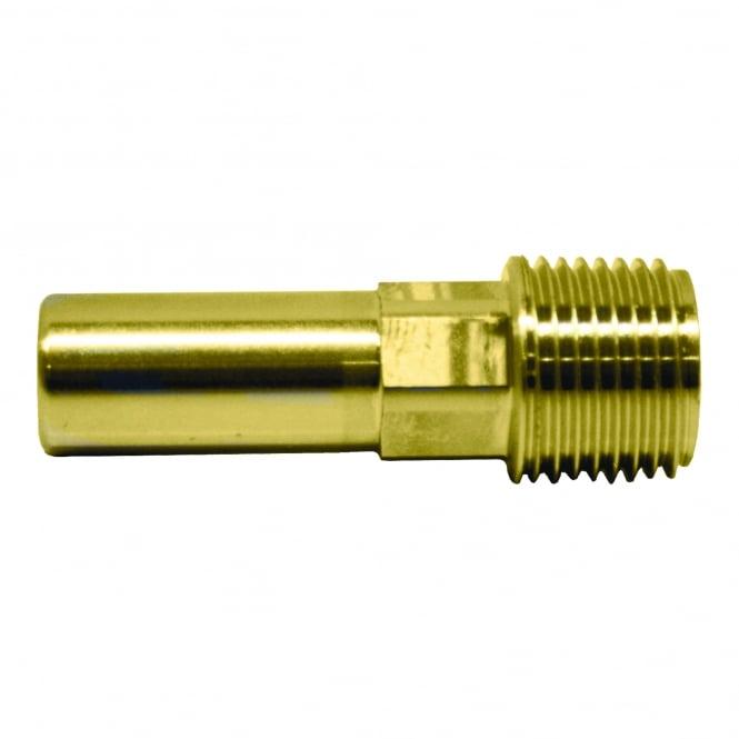 John Guest Speedfit Brass Male Stem Adaptor