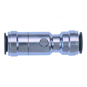 Chrome Plated Service Valve
