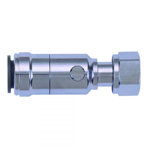 John guest speedfit chrome plated service valve tap