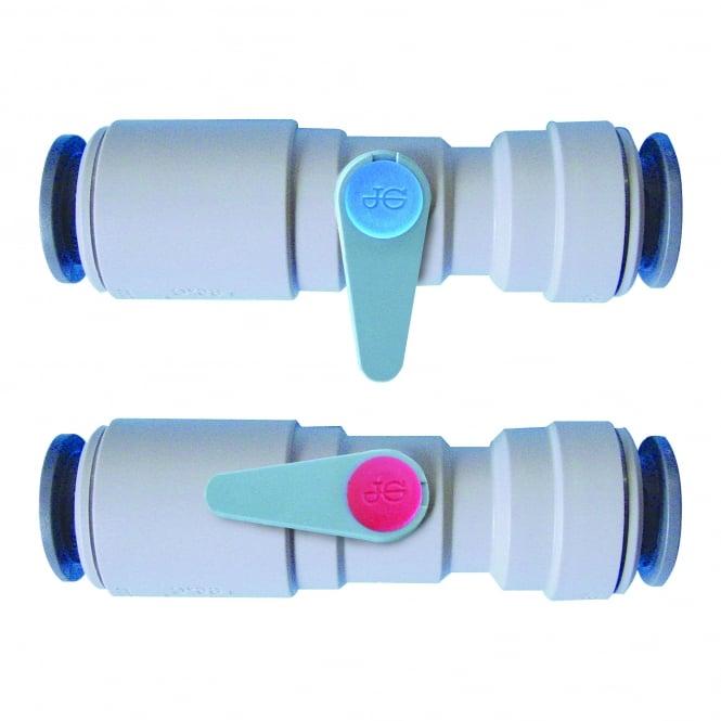 John Guest Speedfit Plastic Ball Valve (Blue)