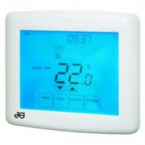 Underfloor Heating Touchscreen Room Thermostat JGSTATPLUS/TS/V3/ JGSTAT/TS/V3