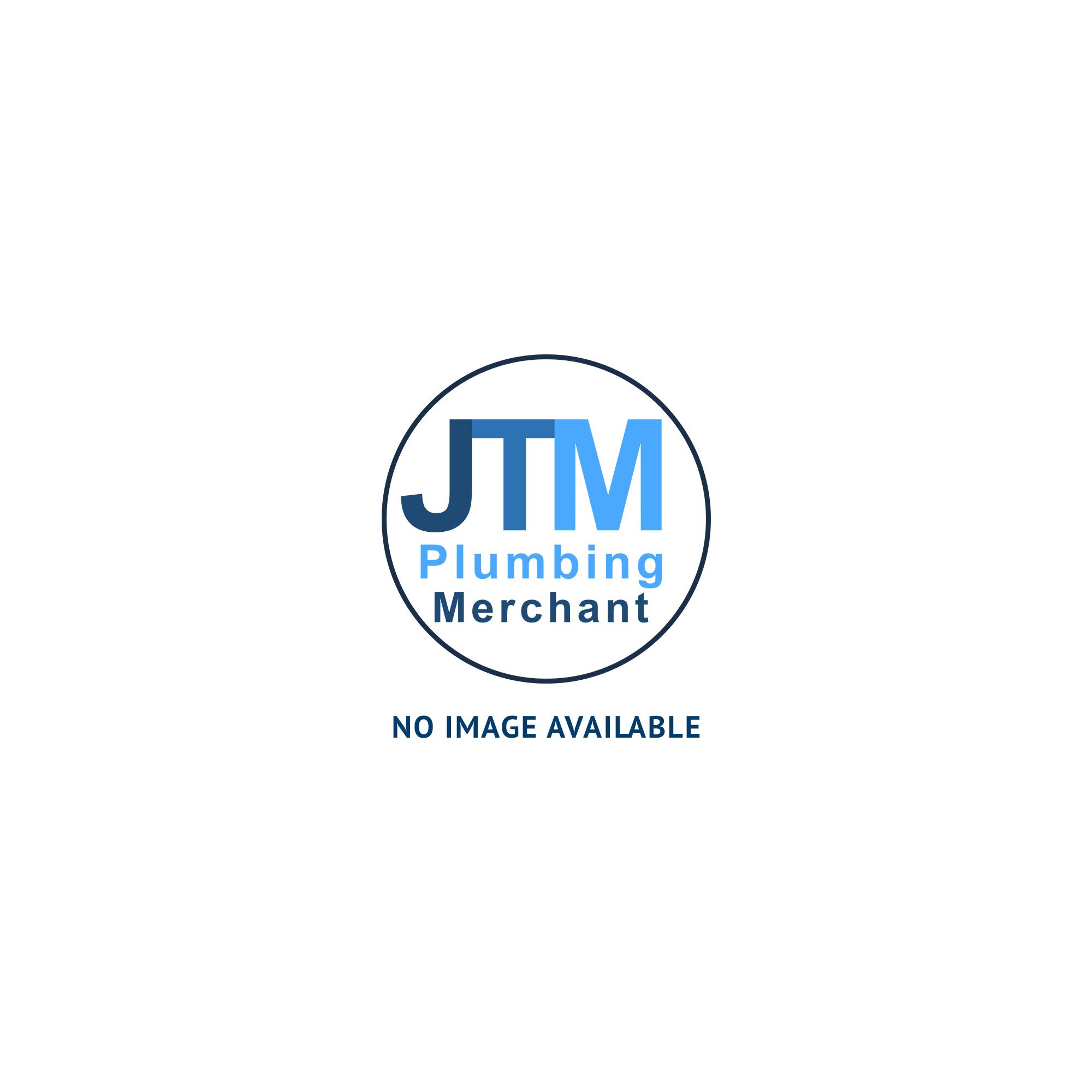 JTM 15mm straight wall plate