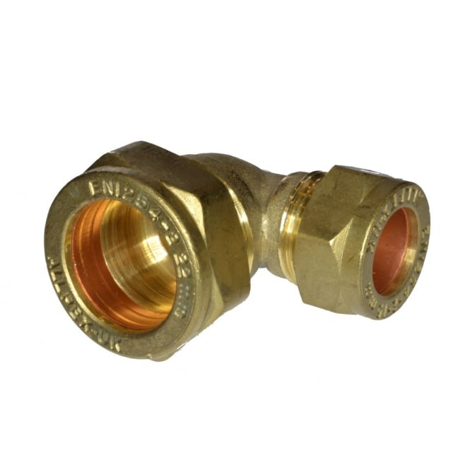JTM 22mm x 15mm Compression Reducing Elbow