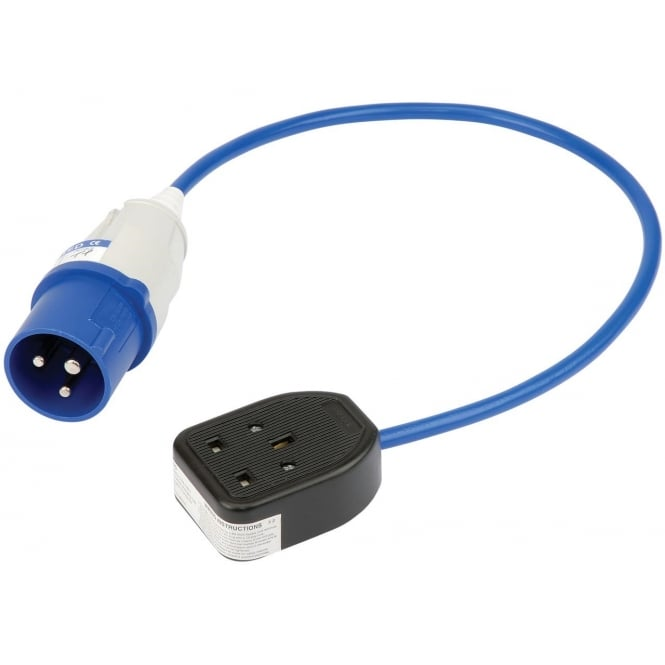 JTM 230V 16A To 13A Adaptor Lead