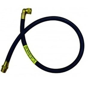 3ft Micropoint cooker hose with angle bayonet (LPG)