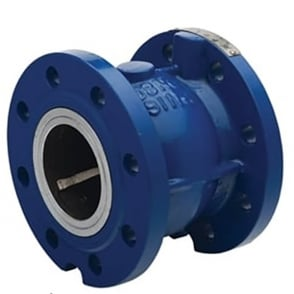 Axial Disc Check Valve EPDM Seat (Flanged - PN16) (Temp -10°C - 105°C)