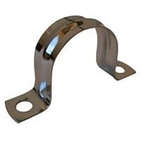 Chrome Plated Saddle Clips