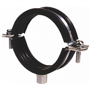 JTM Bracketry Rubber Lined Steel Pipe Clamp (Click In To Listing For Discounts)