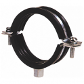 Rubber Lined Steel Pipe Clip, Clamp