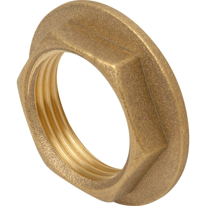 JTM Brass Flanged Backnut
