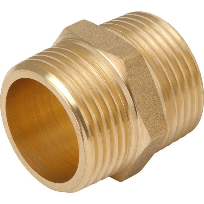 JTM Brass hexagonal nipple