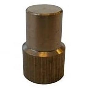 Brass manifold plug