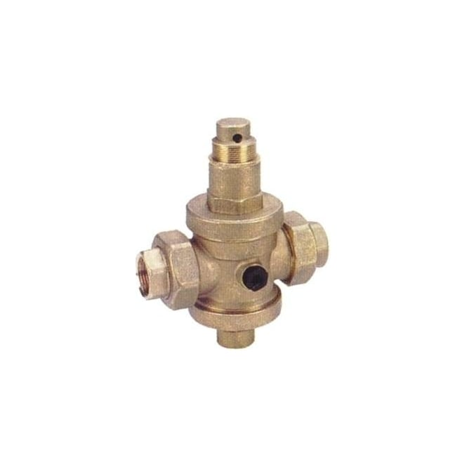 JTM Brass Pressure Reducing Valve With Union Ends