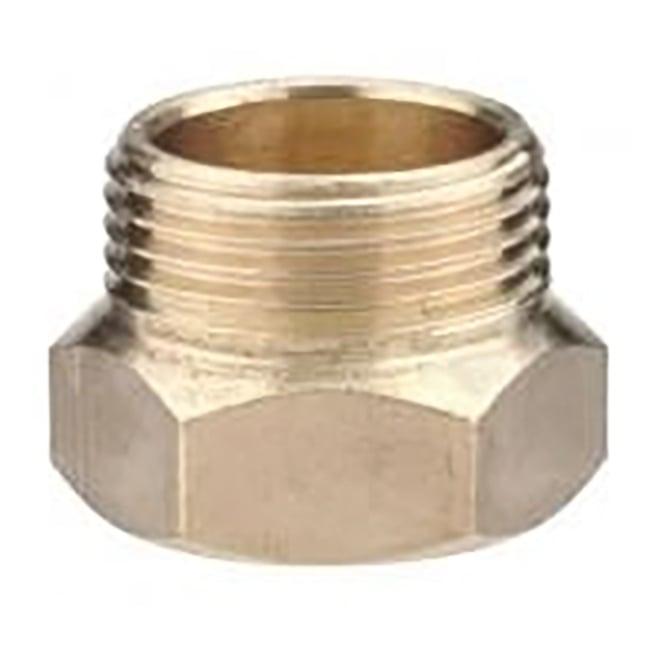 Jtm threaded brass tap tail extension piece m f