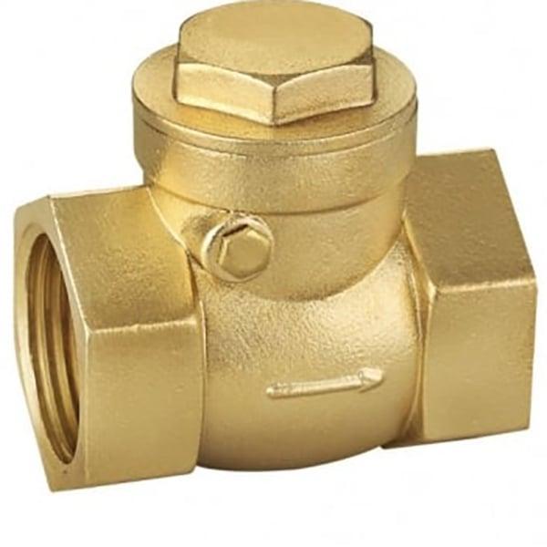 Jtm brass ware valves swing check valve pn pipe
