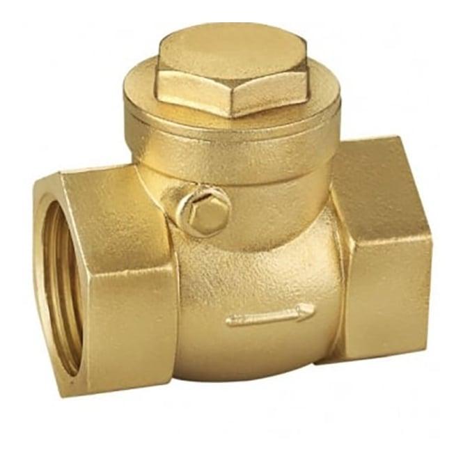 JTM Brass Ware Valves Brass Swing Check Valve  PN20