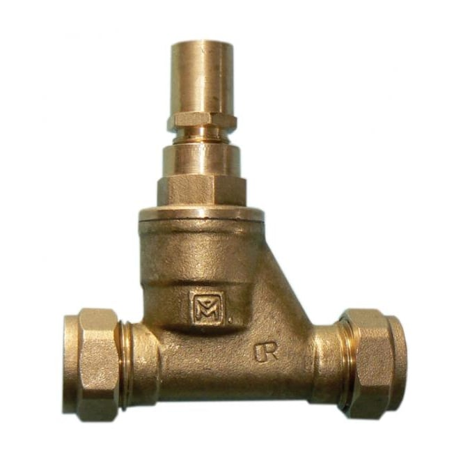 JTM Brass Ware Valves DZR Brass Lockshield Stopcock