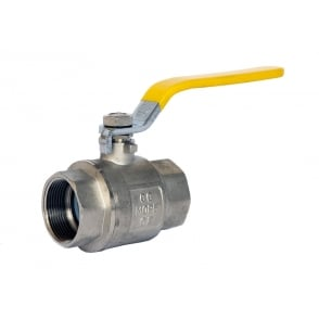 Wras & Gas Approved Yellow Lever Valve PN32